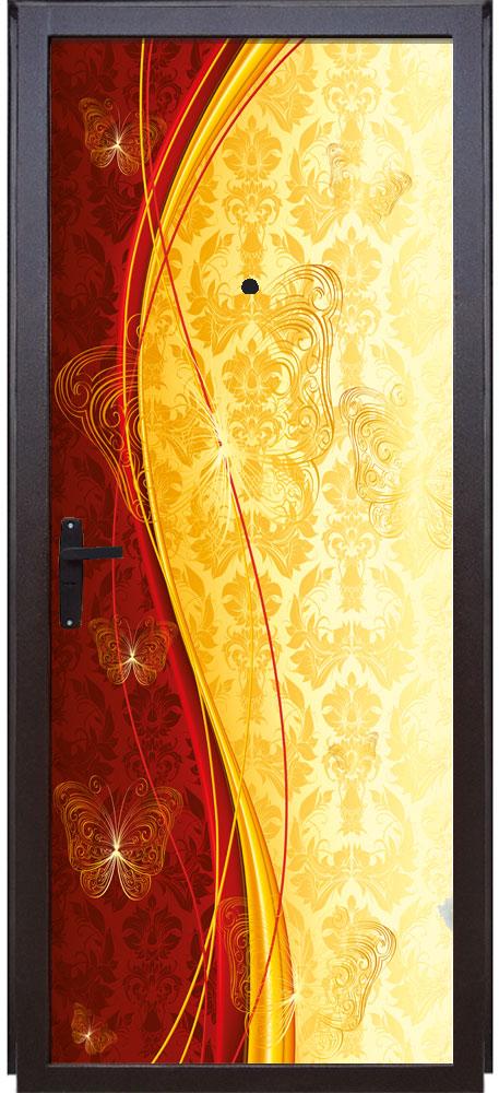 Наклейка  на дверь - Роскошь 4