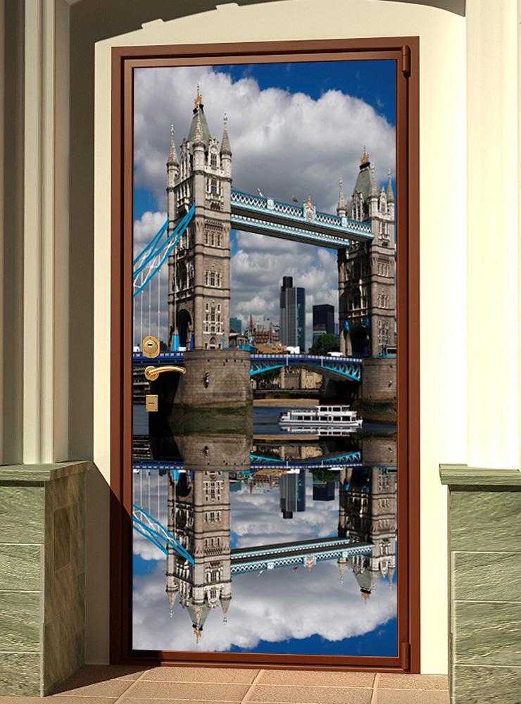 стикер на дверь -  Лондонский мост