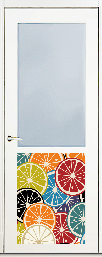 Наклейка на посудомоечную машину -  Мармелад