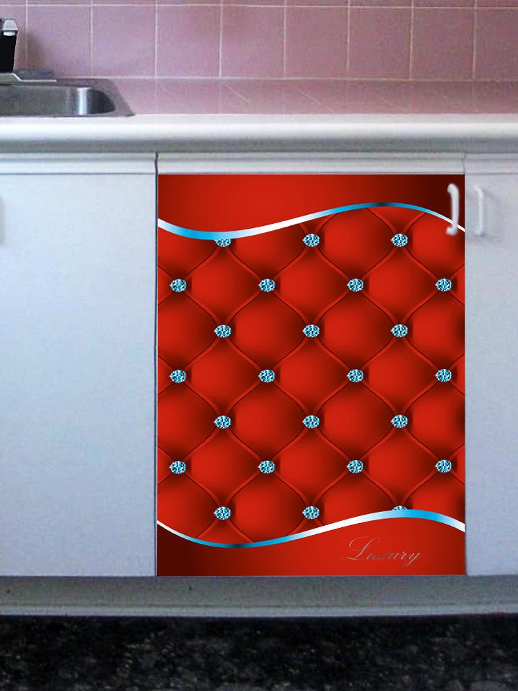 Наклейка на посудомоечную машину -  Роскошь 3