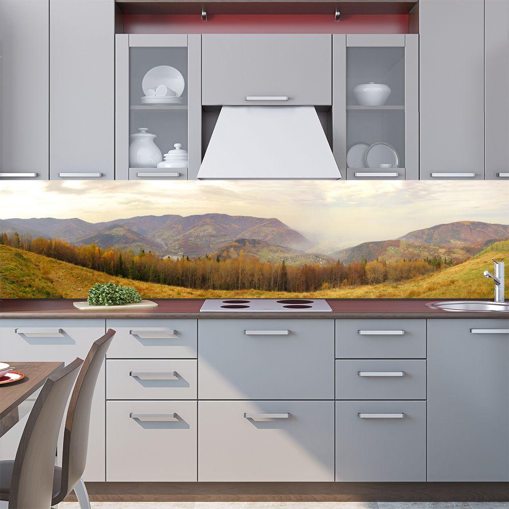 Фартук кухни с фотопечатью - Предгорье