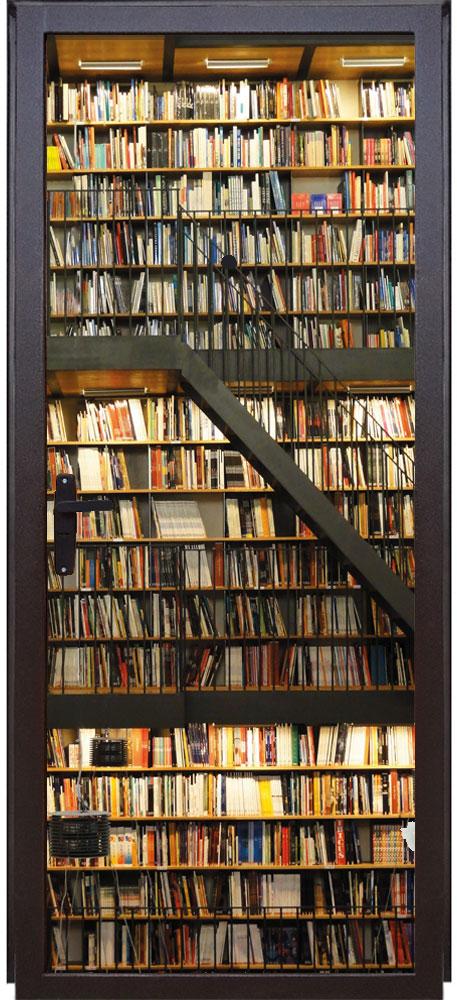 наклейка на дверь - Библиотека