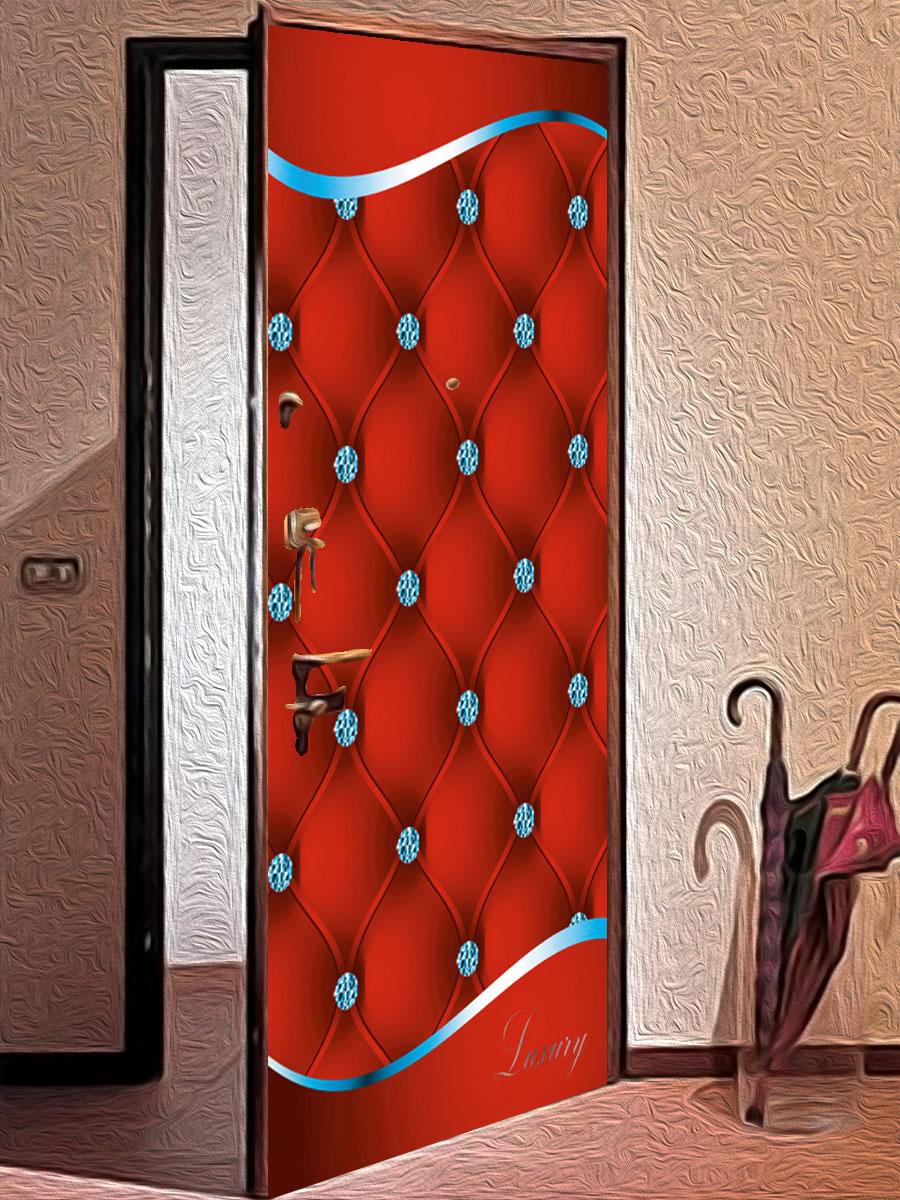 Виниловая наклейка на дверь - Роскошь 3