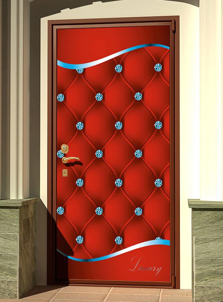 стикер на дверь - Роскошь 3