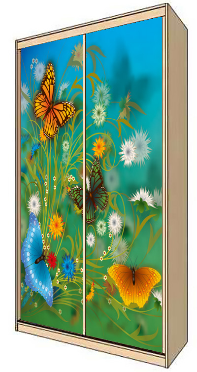 Wardrobe Stickers - The time of flowering by X-Decor