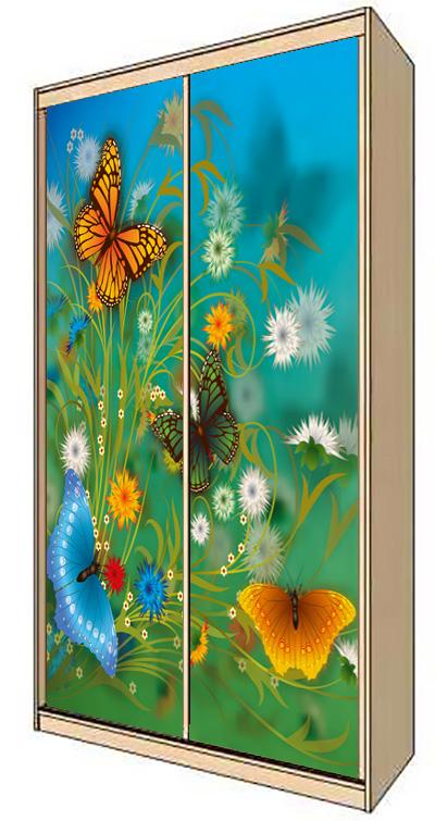 Наклейка на шкаф - Пора цветения