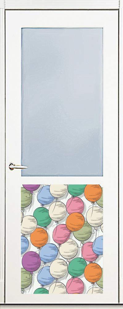 Наклейка на посудомоечную машину - Шарики