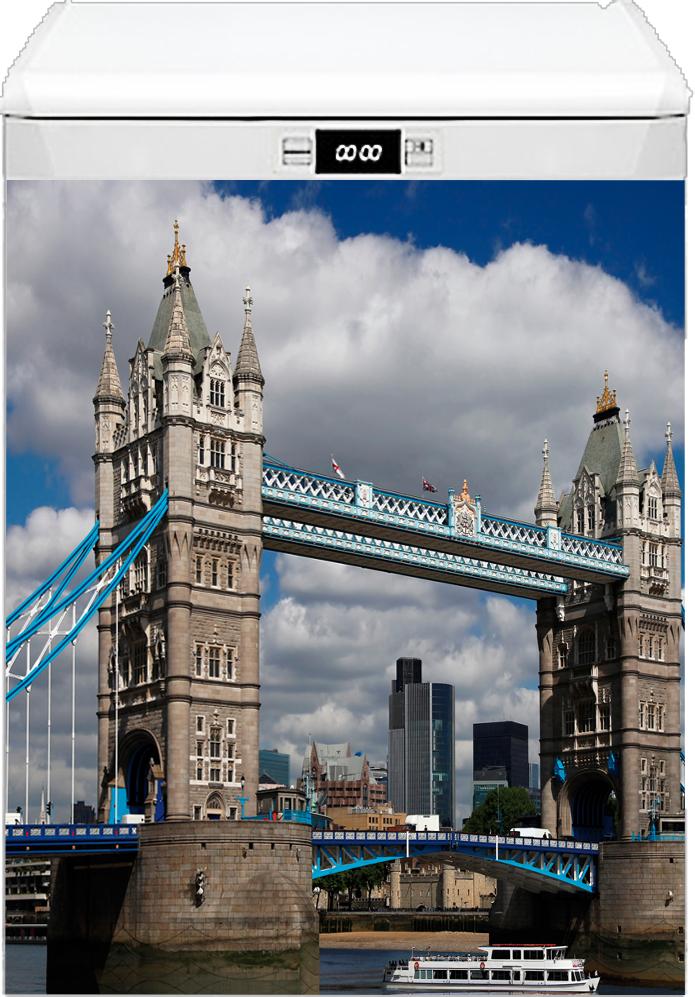 Наклейка на посудомоечную машину  - Лондонский мост