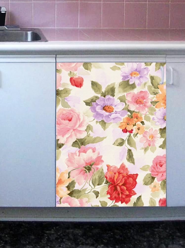 Наклейка на посудомоечную машину -  Прованс