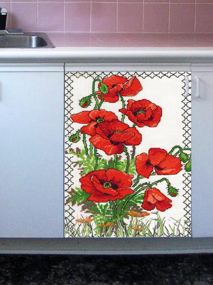 Наклейка на посудомоечную машину -Вышиванка