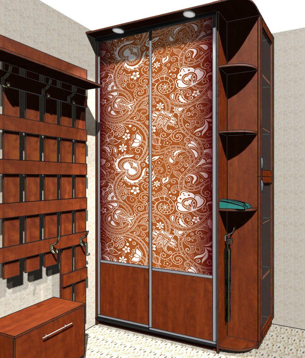 Наклейка на шкаф - Орнамент 2