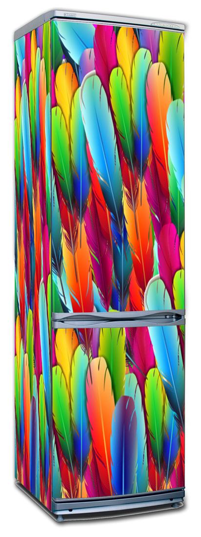Виниловая наклейка на холодильник - Мягкое поле