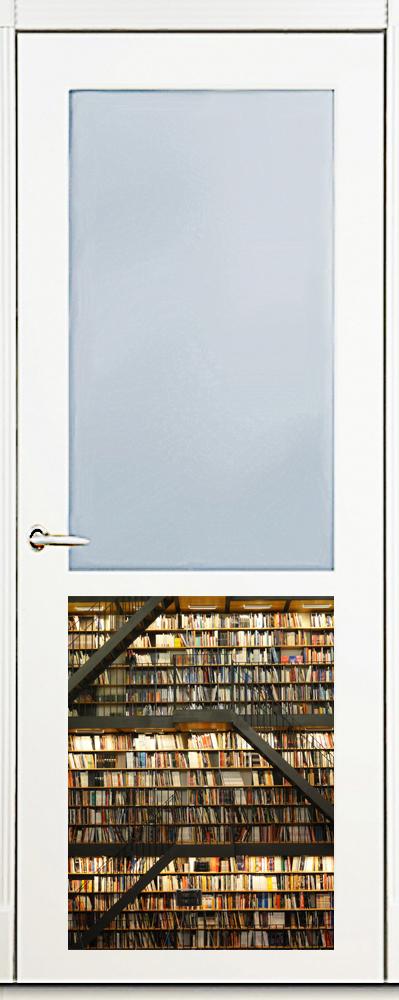 Наклейка на посудомоечную машину и кухню - Библиотека
