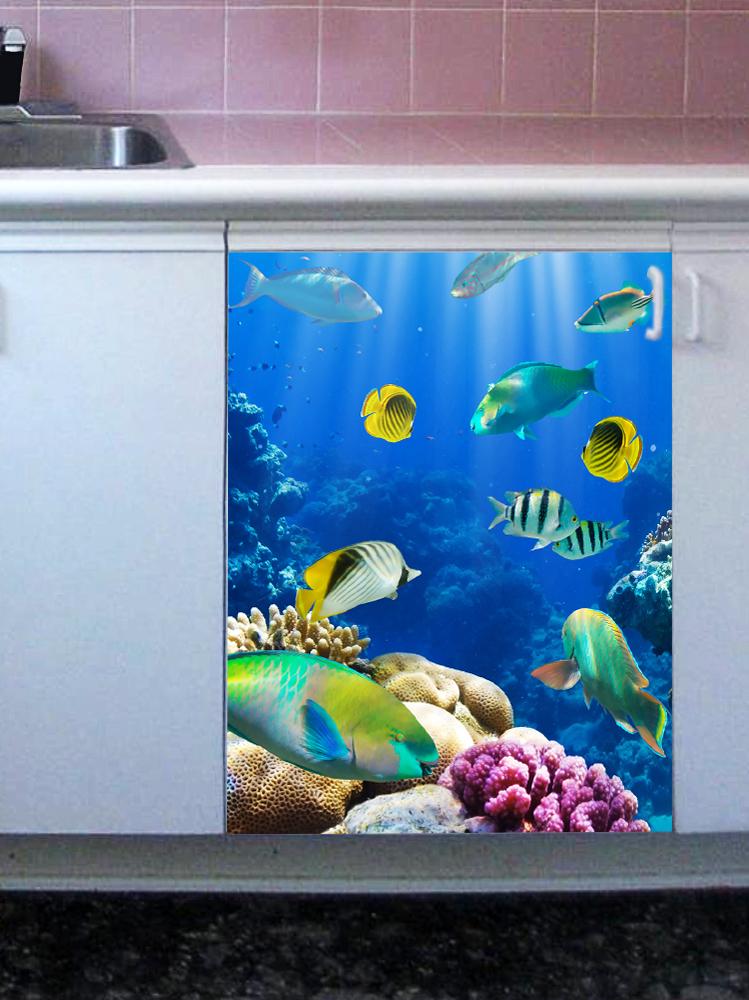 Наклейка на посудомоечную машину  - Лагуна
