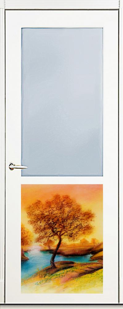 Наклейка на посудомоечную машину  -Пейзаж 2