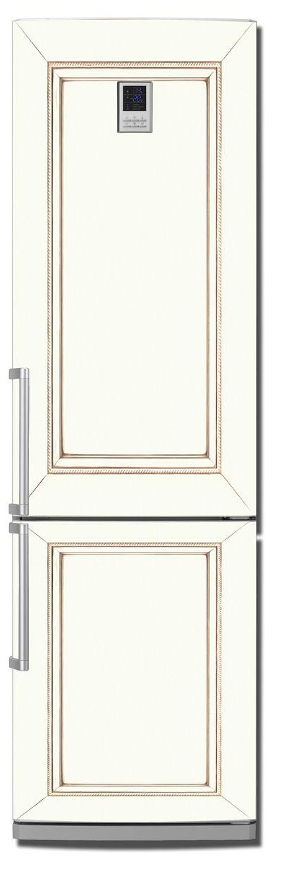 Виниловая наклейка на холодильник - Строгий