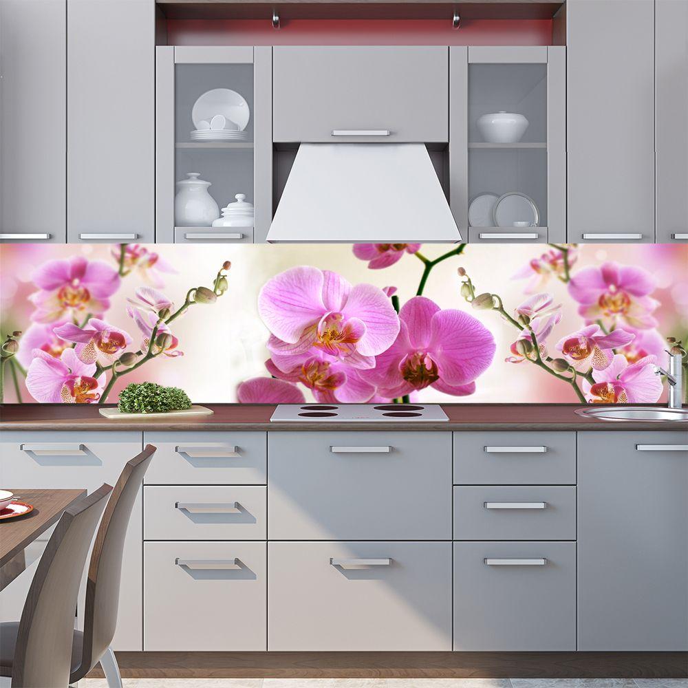 наклейка на фартук - Орхидеи