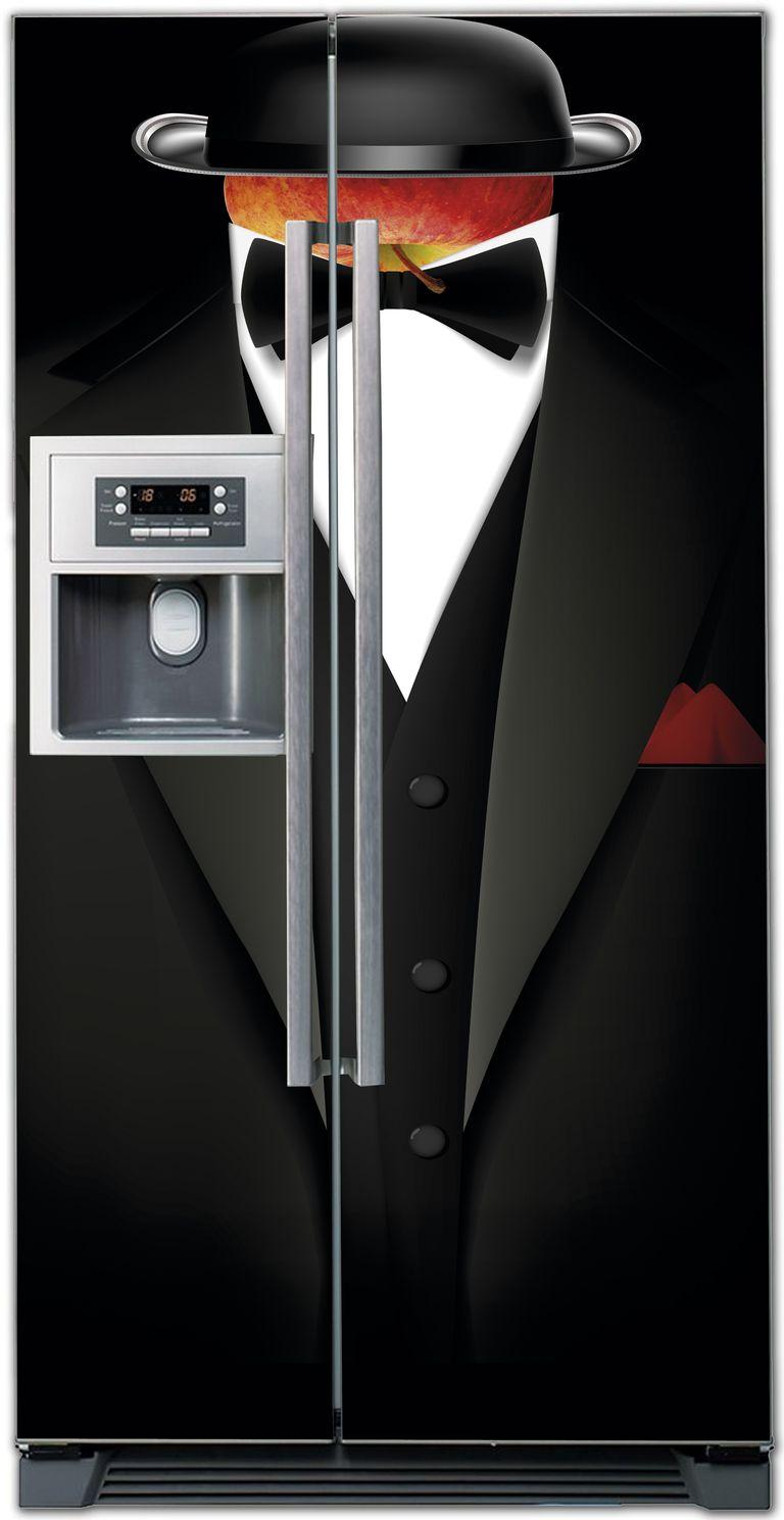 ниловая наклейка на холодильник -  Mr Stickers