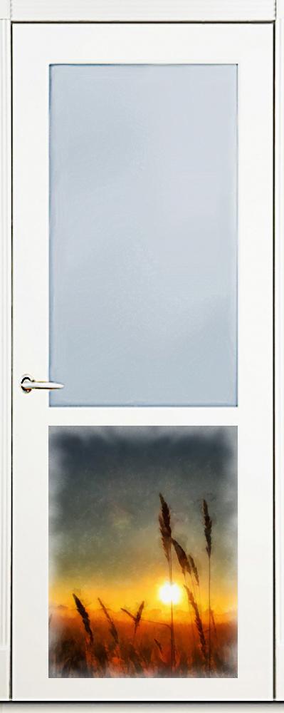 Наклейка на посудомоечную машину  - Рассвет