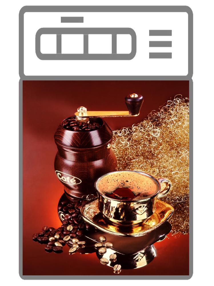 Наклейка на посудомоечную машину  - Кофе 4