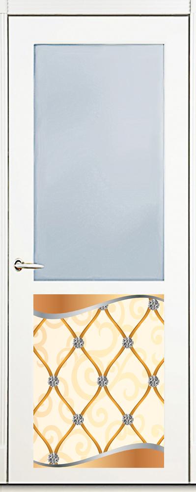 Наклейка на посудомоечную машину -  Роскошь 2