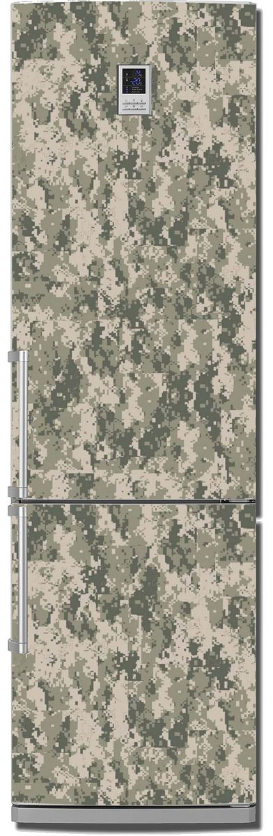 Fridge Skin - Camouflage Pixel by X-Decor
