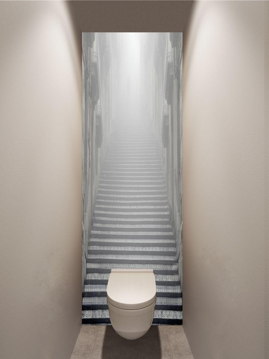 Фотообои в туалет - Внутри облака магазин Интерьерные наклейки