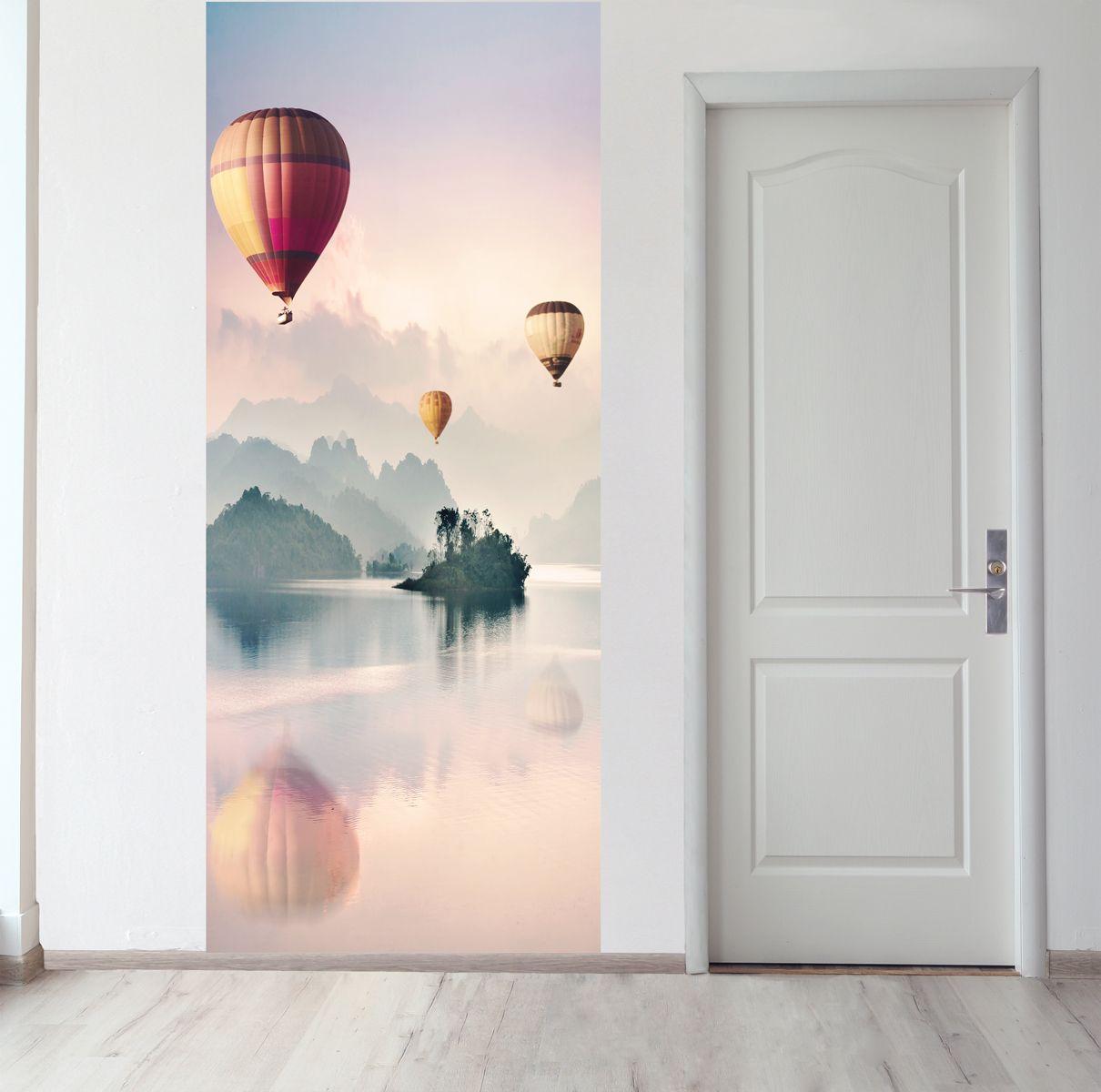 Панно на стену - Воздухоплаватели магазин Интерьерные наклейки