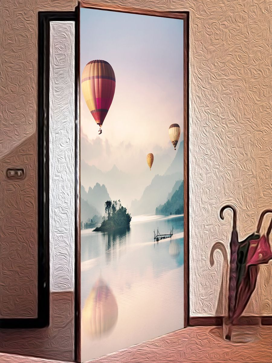 Door sticker - Balloonists