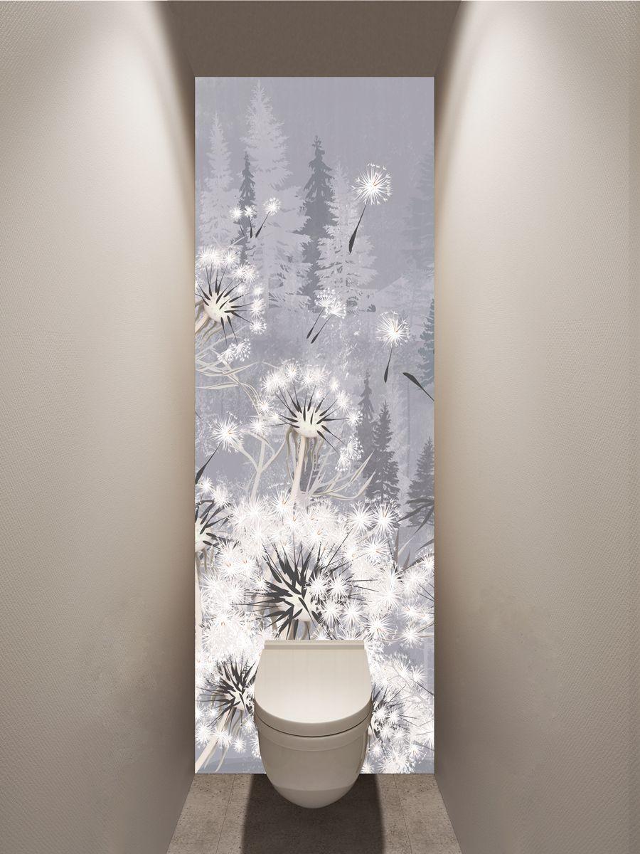 Фотообои в туалет - Все будет белым магазин Интерьерные наклейки
