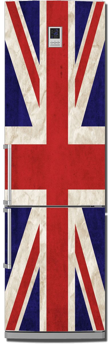 Fridge Sticker - Union jack by X-Decor