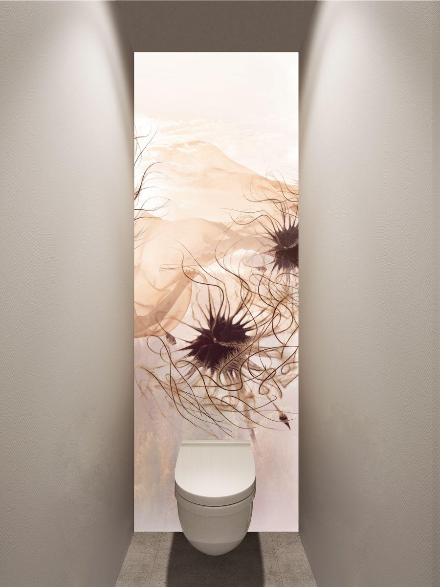 Фотообои в туалет - Пролетая над миром магазин Интерьерные наклейки