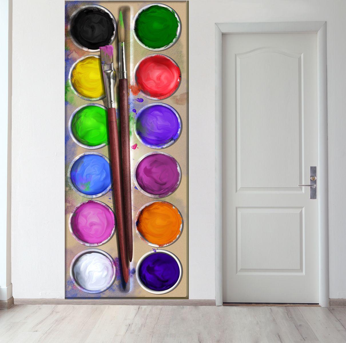 Панно на стену - Акварель магазин Интерьерные наклейки