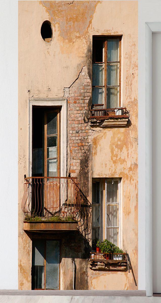 Панно на стену - Балкон магазин Интерьерные наклейки