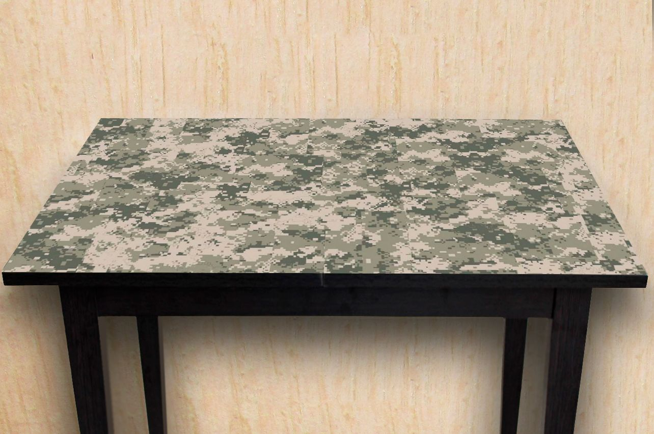 Stickers a Table - Camouflage Pixel | Table top Decals in x-decor.com