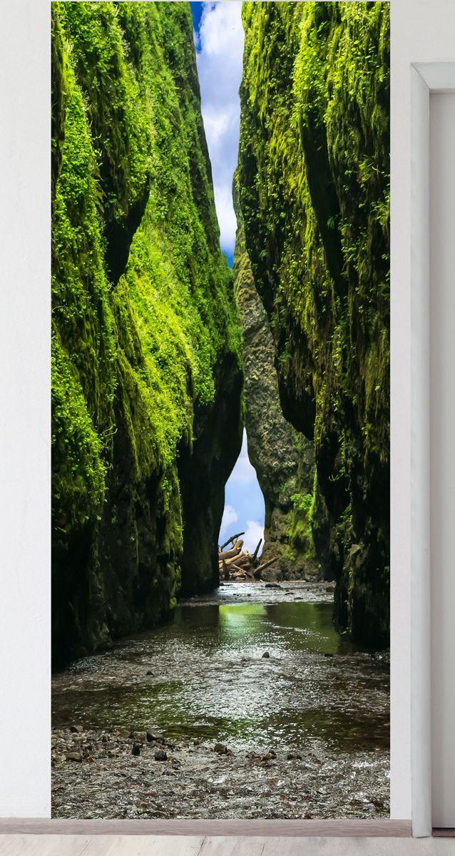 Панно на стену - Впереди водопад магазин Интерьерные наклейки