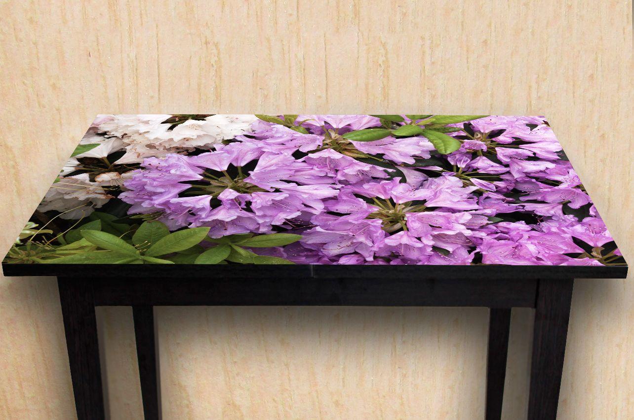 Наклейка на стол -Рододендрон | Купить фотопечать на стол в магазине Интерьерные наклейки