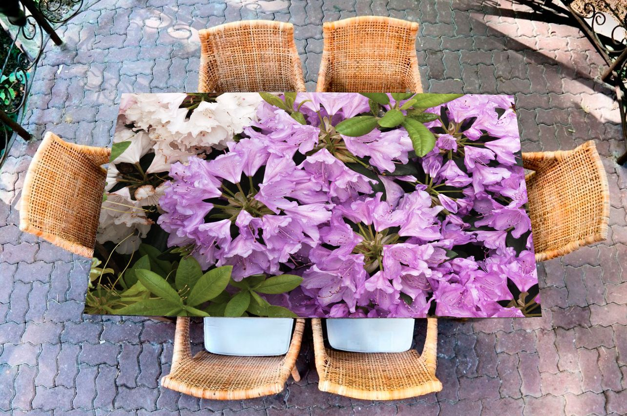 Наклейка на стол - Рододендрон | Купить фотопечать на стол в магазине Интерьерные наклейки