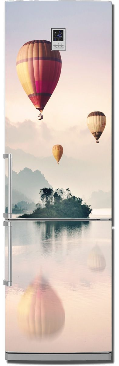 Fridge Skin - Balloonists by X-Decor