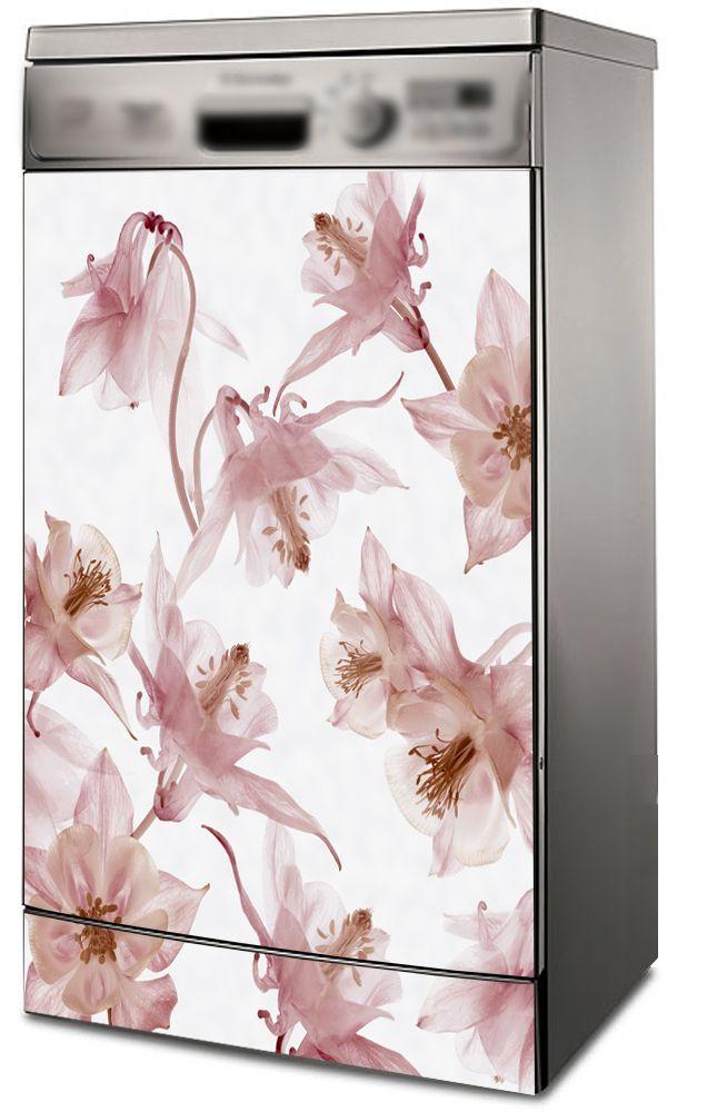 Наклейка на посудомоечную машину -  Вальс цветов