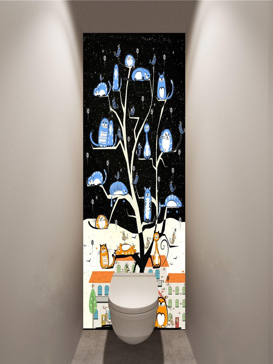 Фотообои в туалет - Lime магазин Интерьерные наклейки