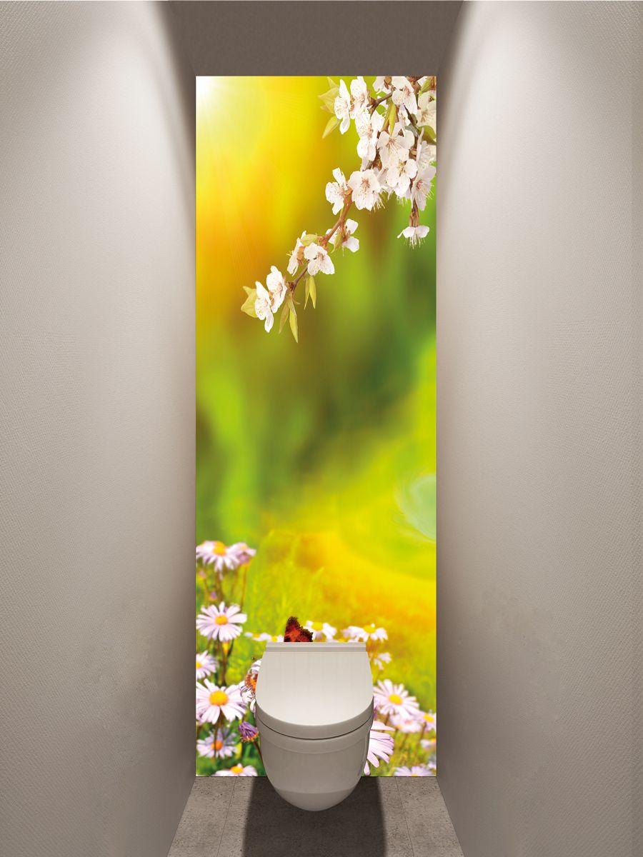 Фотообои в туалет - Весна магазин Интерьерные наклейки
