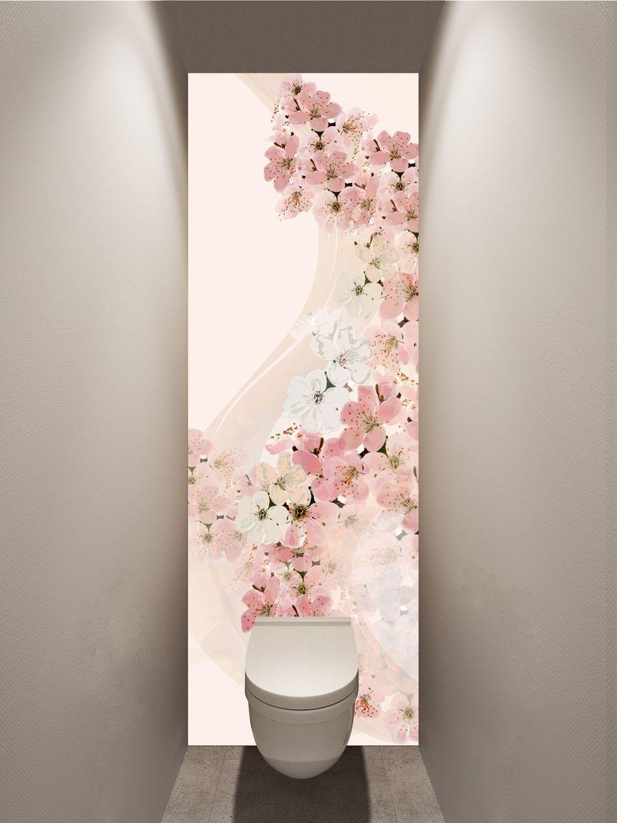Фотообои в туалет - Вуаль весны магазин Интерьерные наклейки