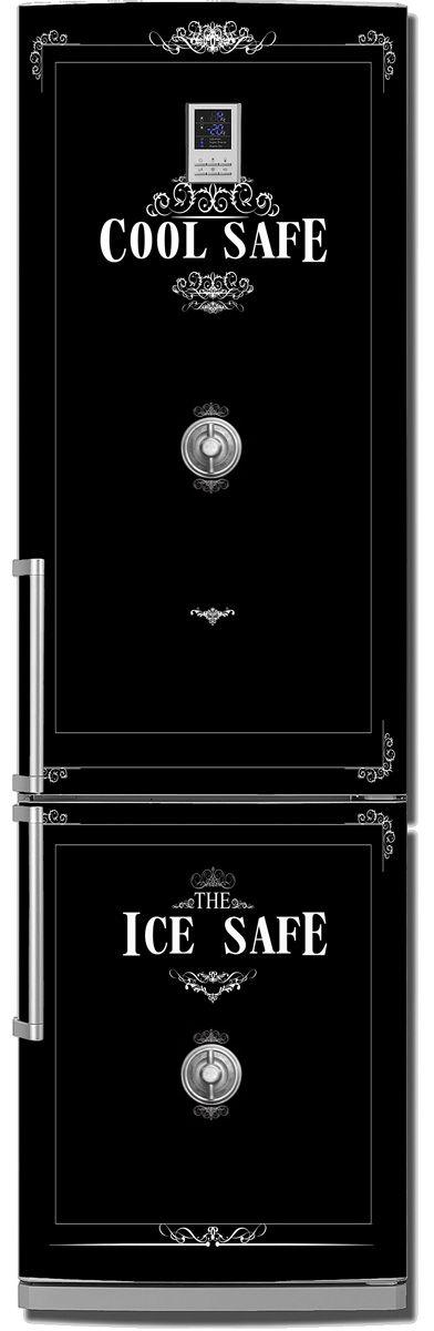 наклейка на холодильник -  Cool Safe