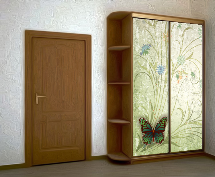 Wardrobe Stickers - Collection of pollen by X-Decor
