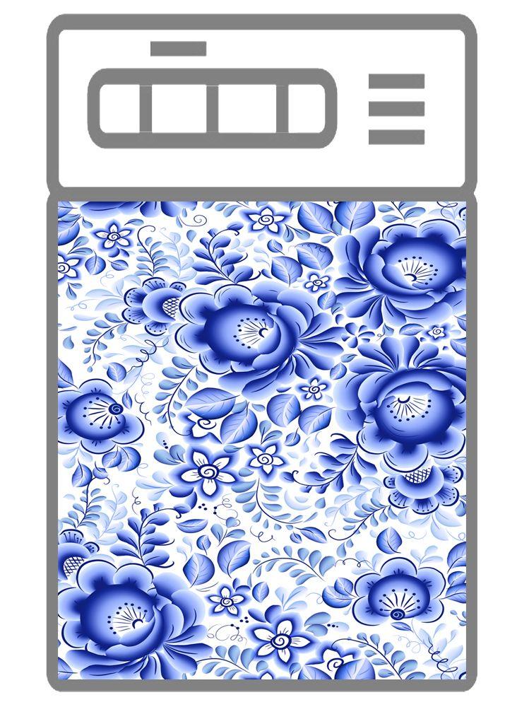 Наклейка на посудомоечную машину и кухню - Гжель