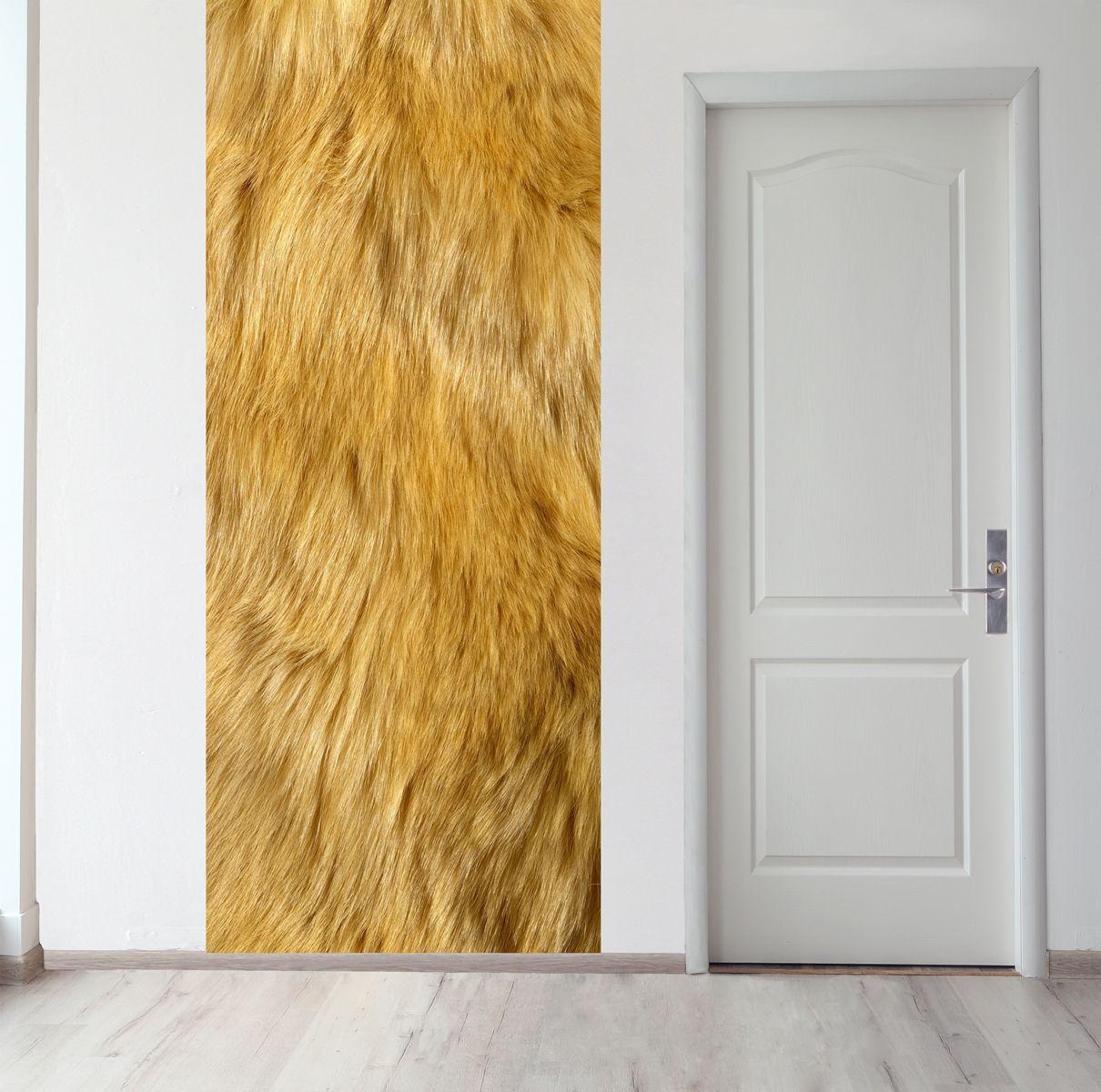Панно на стену - Шерсть льва магазин Интерьерные наклейки