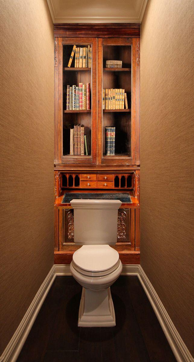 Фотообои в туалет - Секретер магазин Интерьерные наклейки