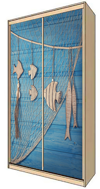 Wardrobe Stickers - Fisherman's catch by X-Decor