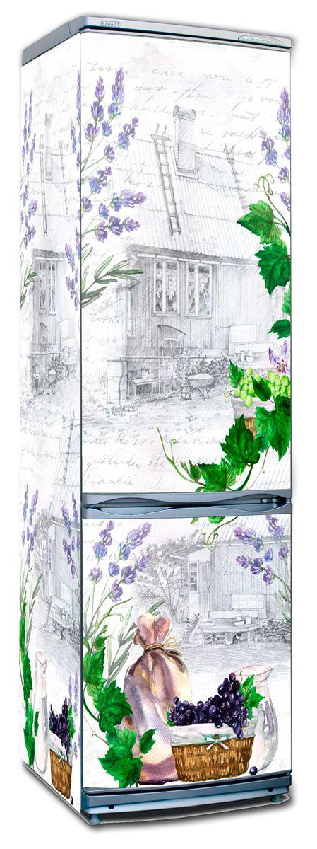 Наклейка на холодильник - Письмо Изабель купить в магазине Интерьерные наклейки